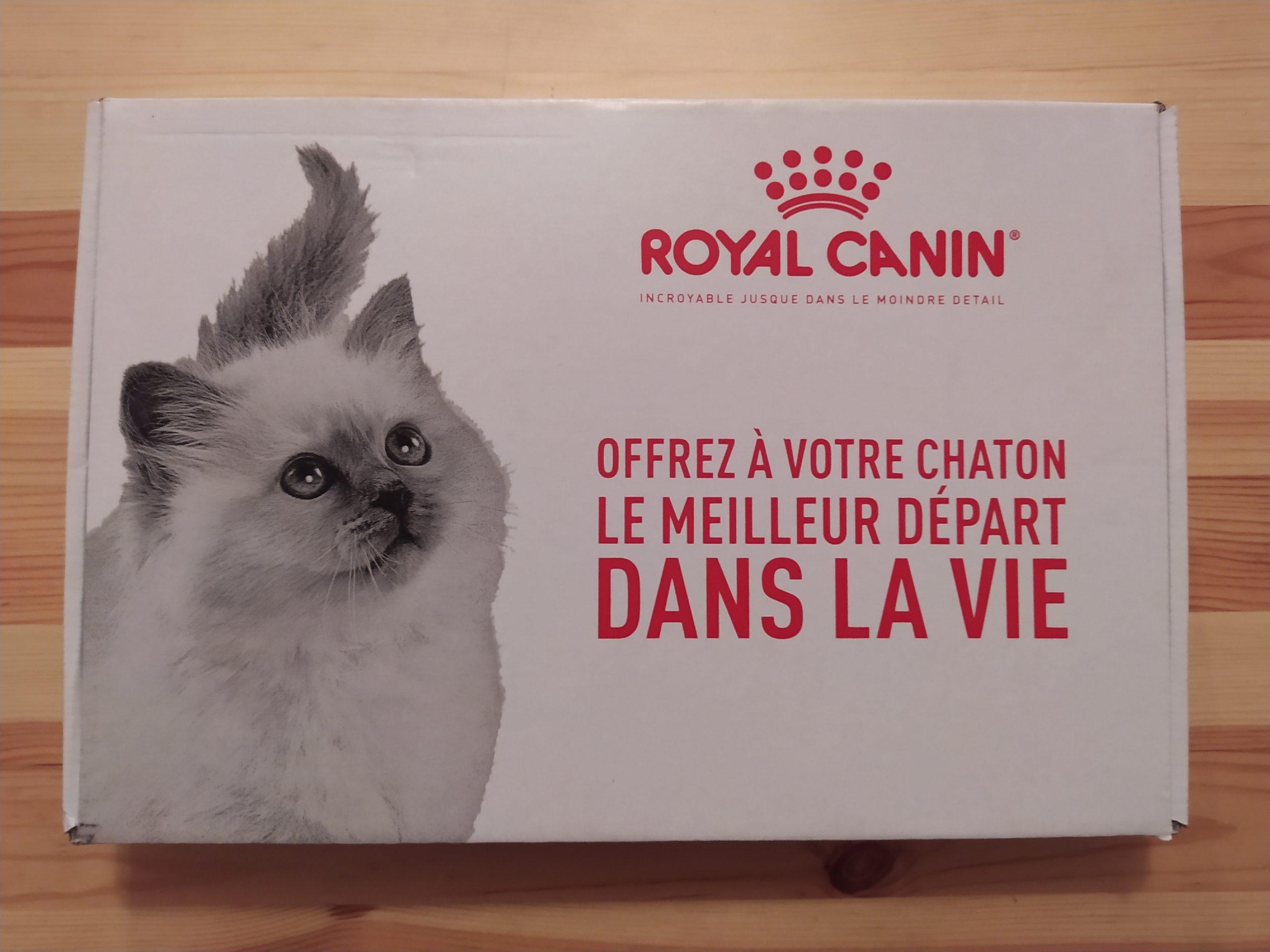 Echantillon gratuit du Coffret chaton Royal Canin