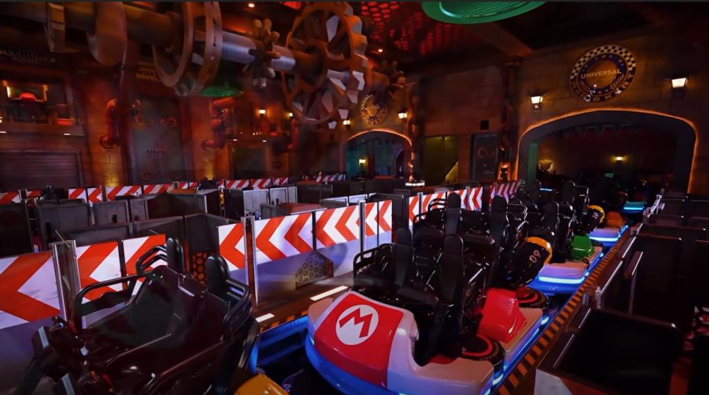Mario Kart Bowser's special course