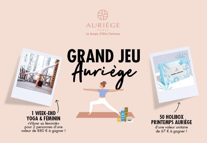 Grand Jeu concours Auriège